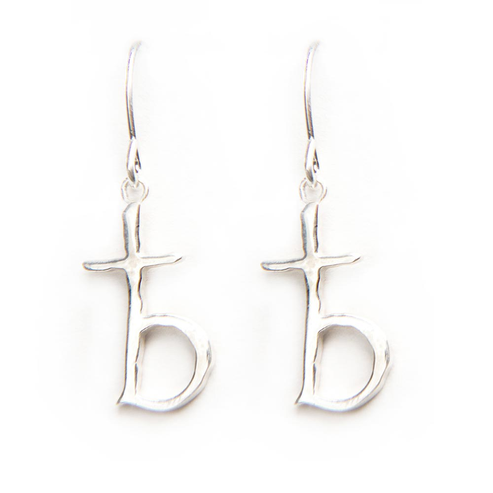 b_cross_earrings