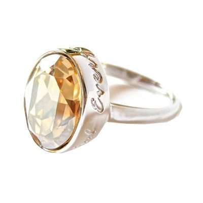 Everything Beautiful Golden Shadow Ring