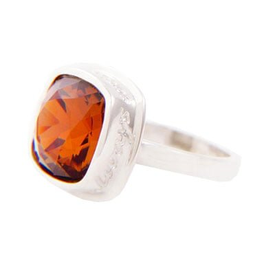 I Am Always With You Citrine Ring