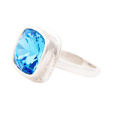 I Am Always With You Aqua Marine Ring