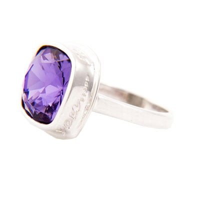 I Am Always With Tanzanite Ring